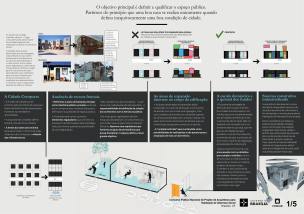 Premiados – Concurso Nacional – Unidades Habitacionais de Interesse Social DF - Grupo 2 - Menção Honrosa - Prancha 01