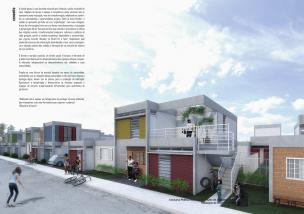 Premiados – Concurso Nacional – Unidades Habitacionais de Interesse Social DF - Grupo 3 - Primeiro Lugar - Prancha 01