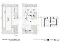 Premiados – Concurso Nacional – Unidades Habitacionais de Interesse Social DF - Grupo 2 - Primeiro Lugar - Prancha 02