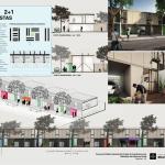Premiados – Concurso Nacional – Unidades Habitacionais de Interesse Social DF - Grupo 2 - Menção Honrosa - Prancha 03