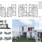 Premiados – Concurso Nacional – Unidades Habitacionais de Interesse Social DF - Grupo 3 - Primeiro Lugar - Prancha 05