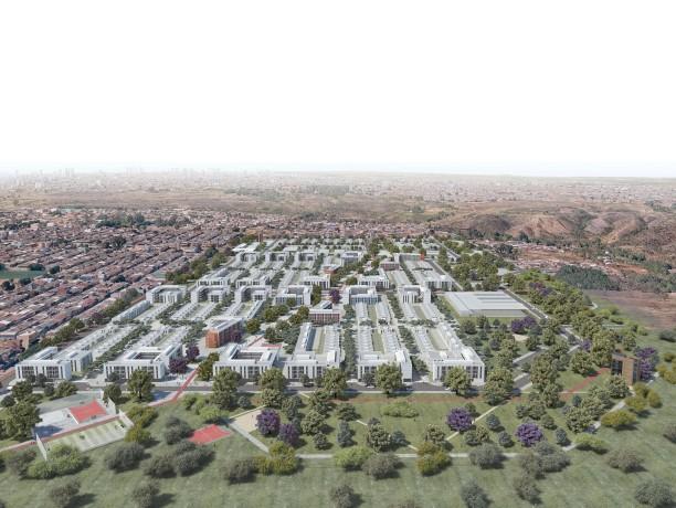 Premiados - Concurso Nacional - Setor Habitacional Pôr do Sol - Ceilândia - DF - Segundo Lugar - Imagem 01