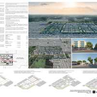 Premiados - Concurso Nacional - Setor Habitacional Pôr do Sol - Ceilândia - DF - Primeiro Lugar - Prancha 02