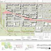 Premiados - Concurso Nacional - Setor Habitacional Pôr do Sol - Ceilândia - DF - Primeiro Lugar - Prancha 03