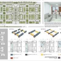 Premiados - Concurso Nacional - Setor Habitacional Pôr do Sol - Ceilândia - DF - Menção Honrosa - Prancha 03