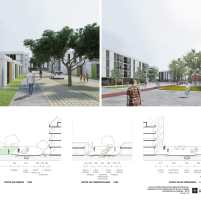 Premiados - Concurso Nacional - Setor Habitacional Pôr do Sol - Ceilândia - DF - Segundo Lugar - Prancha 05