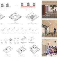 Premiados - Concurso Internacional - Modern Collective Living Challenge - 3º Lugar - Prancha 02