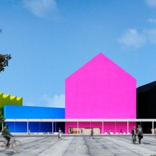 Concurso Museu da Criatividade – Barra Funda – SP - Menção Honrosa - Equipe 023308 - Imagem 01