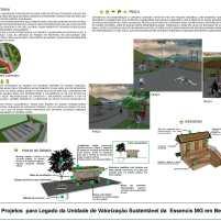 Premiados - Concurso de Estudantes - Parque Urbano em Aterro Sanitário UVS Betim - MG - Menção Honrosa - Prancha 03