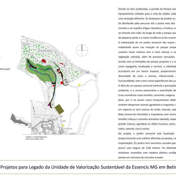 Premiados - Concurso de Estudantes - Parque Urbano em Aterro Sanitário UVS Betim - MG - Quinto Lugar - Prancha 01