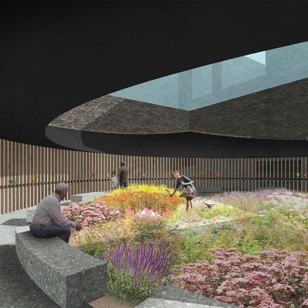 Premiados - Concurso Público Nacional de Arquitetura para o Memorial às Vítimas da Kiss - Primeiro Lugar - Imagem 01