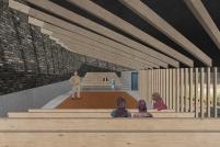 Premiados - Concurso Público Nacional de Arquitetura para o Memorial às Vítimas da Kiss - Primeiro Lugar - Imagem 03