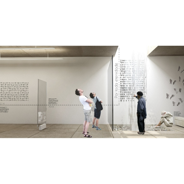 Premiados - Concurso Público Nacional de Arquitetura para o Memorial às Vítimas da Kiss - Segundo Lugar - Imagem 01