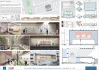 Premiados - Concurso Público Nacional de Arquitetura para o Memorial às Vítimas da Kiss - Segundo Lugar - Prancha 01