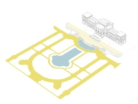 Concurso para o Restauro e Modernização do Museu Paulista em São Paulo - Primeiro Lugar - Imagem 14 - Ampliação da Praça de Acesso