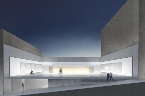 Premiados - Concurso Público Nacional de Arquitetura para o Memorial às Vítimas da Kiss - Quinto Lugar - Imagem 01