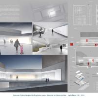 Premiados - Concurso Público Nacional de Arquitetura para o Memorial às Vítimas da Kiss - Quinto Lugar - Prancha 01