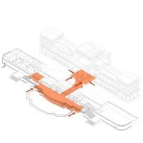 Concurso para o Restauro e Modernização do Museu Paulista em São Paulo - Primeiro Lugar - Imagem 17 - Acessos e Áreas Públicas
