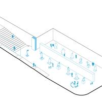 Concurso para o Restauro e Modernização do Museu Paulista em São Paulo - Primeiro Lugar - Imagem 21 - Auditório e exposições
