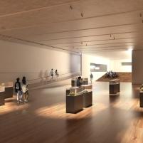 Concurso para o Restauro e Modernização do Museu Paulista em São Paulo - Primeiro Lugar - Imagem 05 - Auditório e Exposições