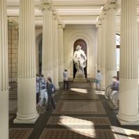 Concurso para o Restauro e Modernização do Museu Paulista em São Paulo - Primeiro Lugar -Imagem 08 - Saguão Monumental
