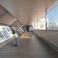 Concurso para o Restauro e Modernização do Museu Paulista em São Paulo - Primeiro Lugar - Imagem 09 - Interior Conexão Long