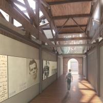 Concurso para o Restauro e Modernização do Museu Paulista em São Paulo - Primeiro Lugar - Imagem 10 - Interior Conexão Long