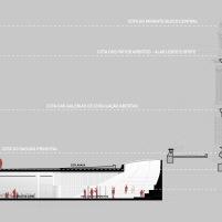 Concurso para o Restauro e Modernização do Museu Paulista em São Paulo - Terceiro Lugar - Imagem 28 - Corte CC