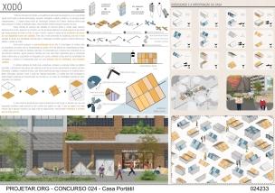Premiados - Concurso de Ideias para Estudantes - Casa Portátil - Menção Honrosa - Prancha 01