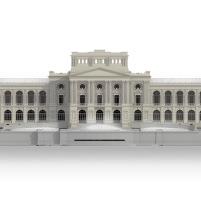 Concurso para o Restauro e Modernização do Museu Paulista em São Paulo - Terceiro Lugar - Imagem 20 - Elevação