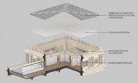 Concurso para o Restauro e Modernização do Museu Paulista em São Paulo - Terceiro Lugar - Imagem 13 - Diagrama de Reconversão Torres