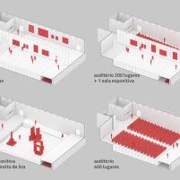 Concurso para o Restauro e Modernização do Museu Paulista em São Paulo - Terceiro Lugar - Imagem 14 - Diagrama de Salas Expositivas