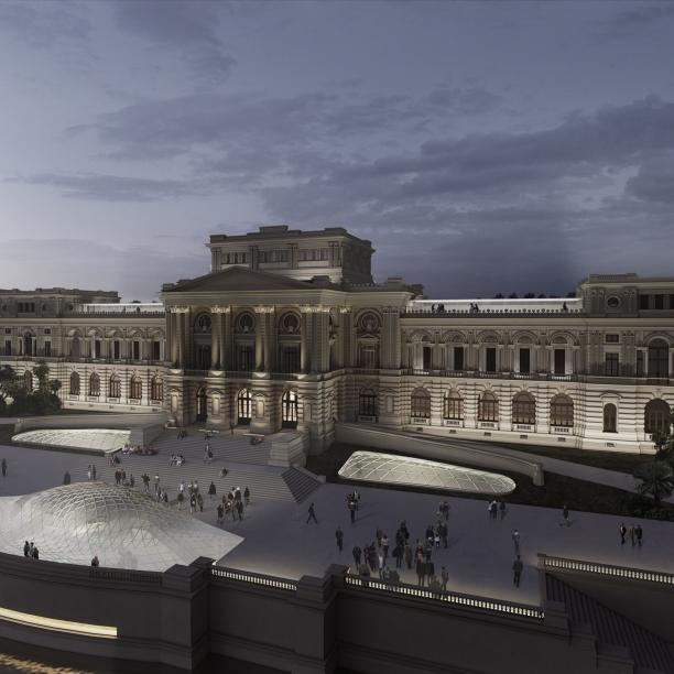 Concurso para o Restauro e Modernização do Museu Paulista em São Paulo - Terceiro Lugar - Imagem 01 - Vista Geral