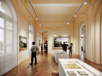 Concurso para o Restauro e Modernização do Museu Paulista em São Paulo - Terceiro Lugar - Imagem 06 - Sala Expositiva