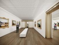 Concurso para o Restauro e Modernização do Museu Paulista em São Paulo - Terceiro Lugar - Imagem 07 - Sala Expositiva