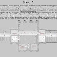 Concurso para o Restauro e Modernização do Museu Paulista em São Paulo - Terceiro Lugar - Imagem 24 - Planta Baixa Nível +2