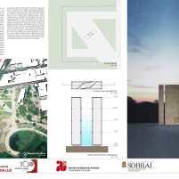 Premiados - Concurso Nacional - Monumento da Luz - Menção Honrosa - Prancha 02