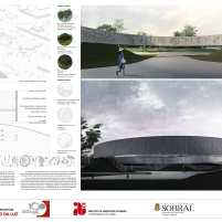 Premiados - Concurso Nacional - Monumento da Luz - Segundo Lugar - Prancha 03