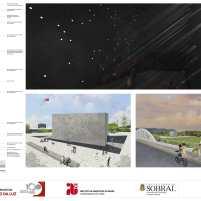Premiados - Concurso Nacional - Monumento da Luz - Terceiro Lugar - Prancha 03