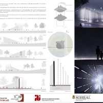Premiados - Concurso Nacional - Monumento da Luz - Menção Honrosa - Prancha 03