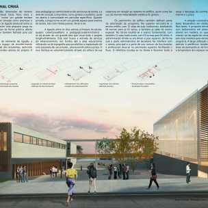 cional - Centro Educacional Bairro Crixá - São Sebastião - DF - Menção Honrosa - Prancha 01