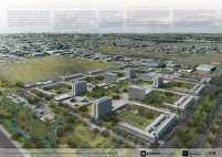 Premiados - Concurso Nacional - Setor Habitacional QNR 06 - Ceilândia - DF - Terceiro Lugar - Prancha 01