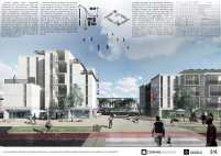 Premiados - Concurso Nacional - Setor Habitacional QNR 06 - Ceilândia - DF - Segundo Lugar - Prancha 02