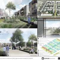 Premiados - Concurso Nacional - Setor Habitacional QNR 06 - Ceilândia - DF - Segundo Lugar - Prancha 06