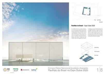 Pavilhao do Brasil - Dubai 2020 - Primeiro Lugar - Prancha 1