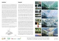 Pavilhao do Brasil - Dubai 2020 - Primeiro Lugar - Prancha 2
