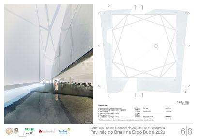 Pavilhao do Brasil - Dubai 2020 - Primeiro Lugar - Prancha 6