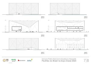 Pavilhao do Brasil - Dubai 2020 - Primeiro Lugar - Prancha 7