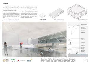 Pavilhao do Brasil - Dubai 2020 - Primeiro Lugar - Prancha 8