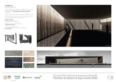 Pavilhao do Brasil - Dubai 2020 - Segundo Lugar - Prancha 1